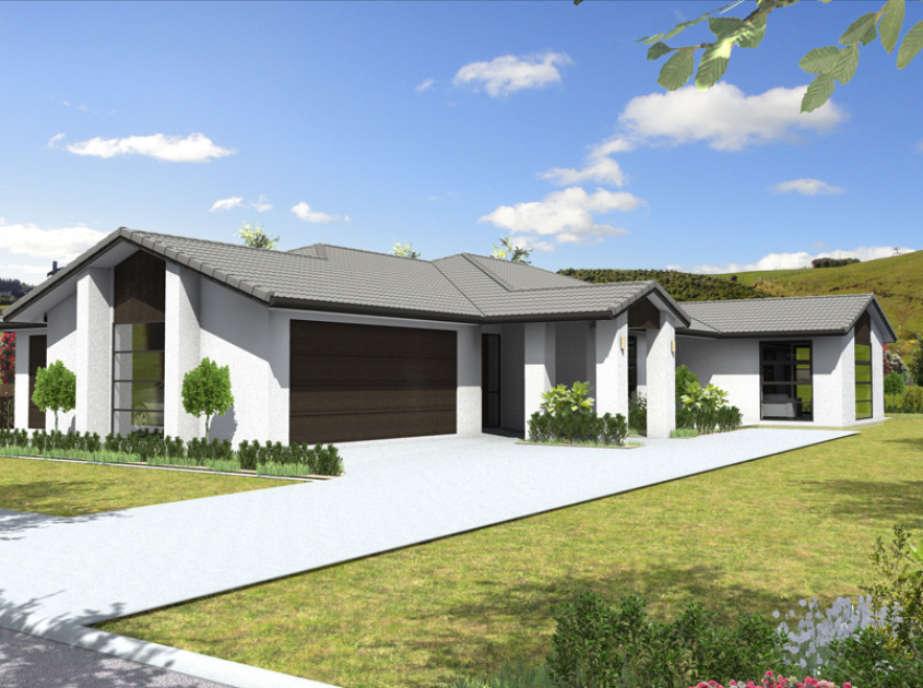 Tauriko 4 bedroom house plan generation homes nz for 4 bedroom house plans nz