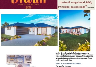 Generation Homes Christchurch House and Land Packages - DIWALI FREE UPGRADES lot 26 Branthwaite linea