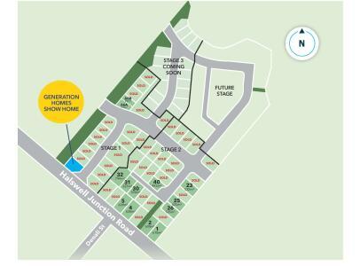 Generation Homes Subdivision Copper Ridge