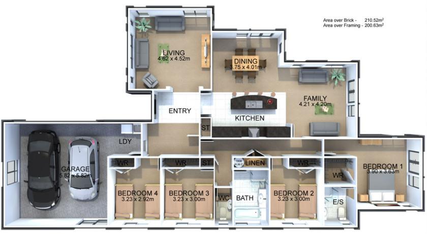 Generation Homes Plan Pembrooke