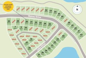 Generation Homes Subdivision Totara Parklands Estate Stage 5B and 4