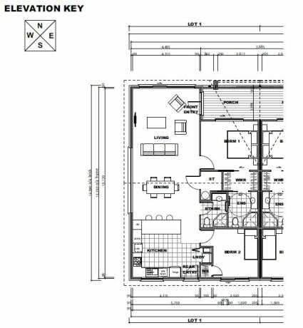 Generation Homes Package Live Easy - End Villa - Lot 1