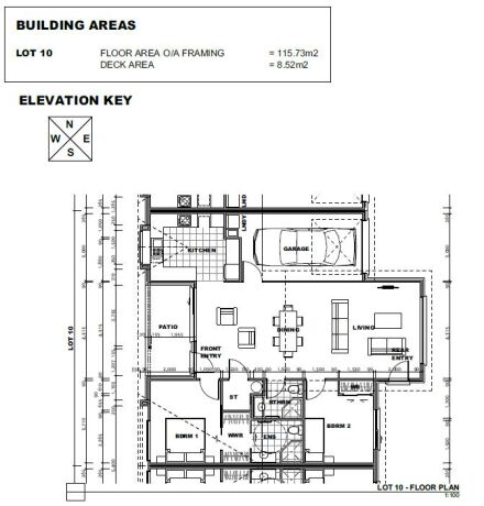 Generation Homes Package Executive Position, Entry Level Price Point lot 10