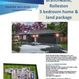 Generation Homes Package Lot 211 Branthwaite, Rolleston