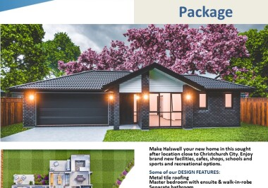 Generation Homes Christchurch House and Land Packages - Lot 40 Copper Ridge, Halswell