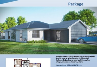 Generation Homes Christchurch House and Land Packages - Lot 139 Branthwaite, Rolleston