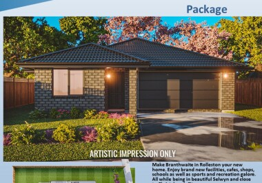 Generation Homes Christchurch House and Land Packages - Lot 209 Branthwaite, Rolleston