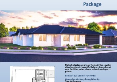 Generation Homes Christchurch House and Land Packages - Lot 7 East Maddisons Estate, Rolleston