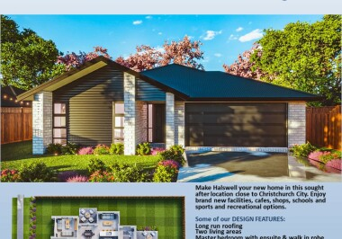 Generation Homes Christchurch House and Land Packages - Lot 25 Copper Ridge, Halswell