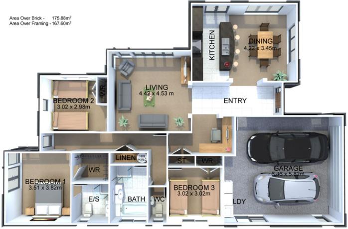 Generation Homes Plan Rayner