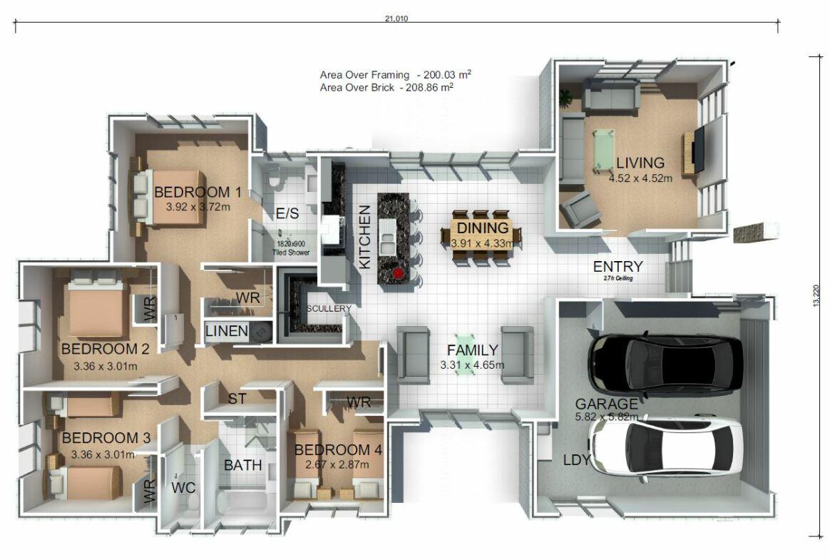Generation Homes Plan Totara