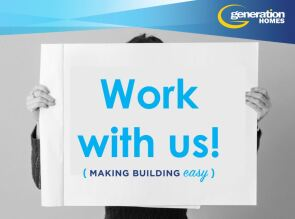 Generation Homes Plan Site Manager wanted