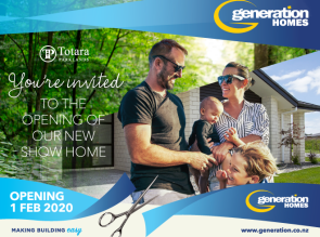 Generation Homes Plan Join us this Saturday and Sunday