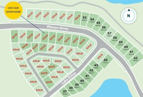 Generation Homes Subdivision Totara Parklands Estate Stage 5B and 4
