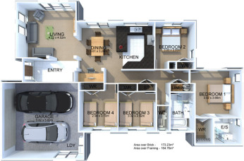 Generation Homes Package Lot 1 - Kotare Downs