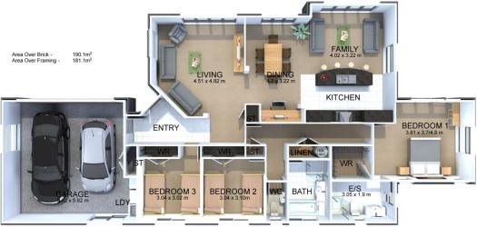 Generation Homes Plan Rodney
