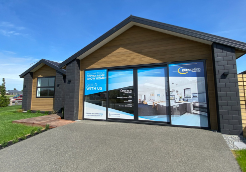 Generation Homes House Plans - Copper Ridge show home