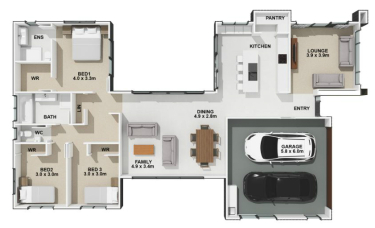 Generation Homes Package Private and Sociable.  From