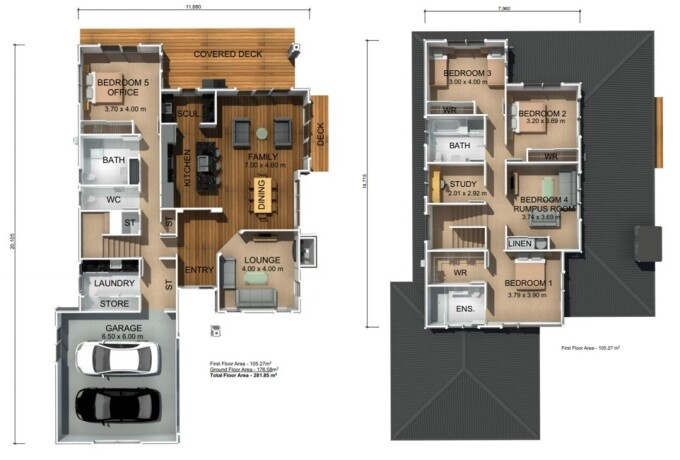 Generation Homes Package Magnificent Monowai - Lot 28 - Park Green