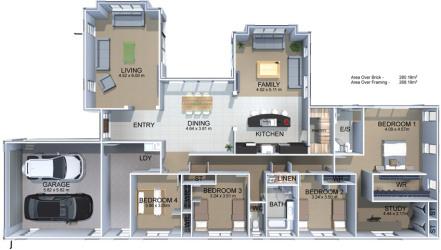 Generation Homes Plan Rosa