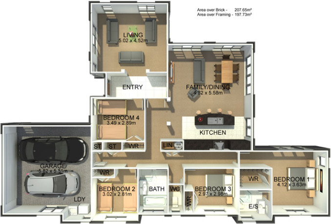 Generation Homes Plan Sheldon