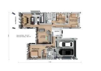 Generation Homes Package Karapiro House Only