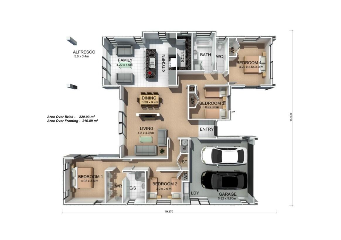 Generation Homes Plan Twizel