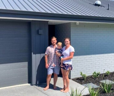 Generation Homes Auckland North client reference - Jen and Dave
