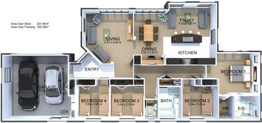 Generation Homes Plan Stirling