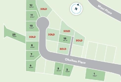 Generation Homes Subdivision Totara Parklands Estate Stage 6B
