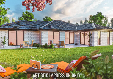 Generation Homes Christchurch House and Land Packages - Lot 489 Rosemerryn, Lincoln