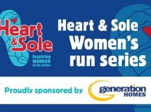 Generation Homes Plan Heart and Sole Women's Run Series