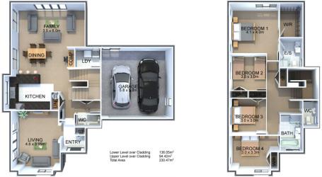 Generation Homes Plan Thoroughbred