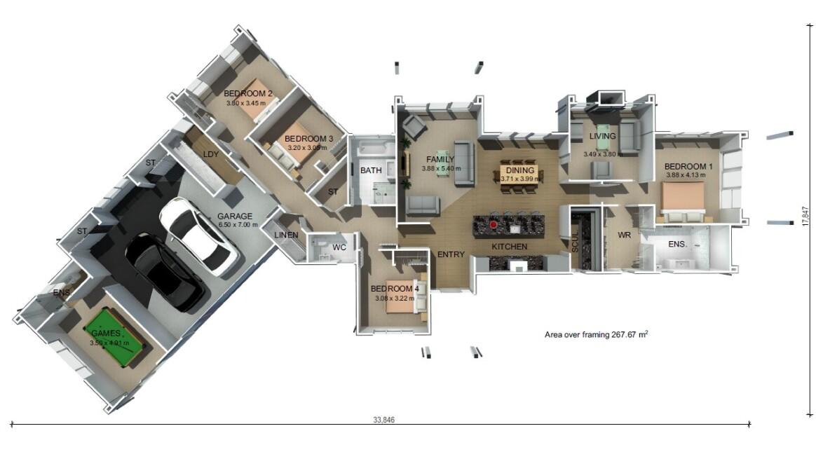 Generation Homes Plan Kamaka