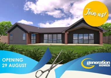 Generation Homes House Plans - Cambridge Show Home - opening 29 Aug