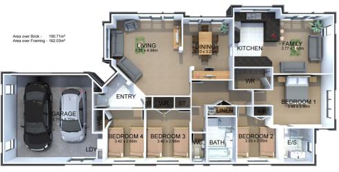 Generation Homes Plan Bellevue