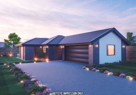 Generation Homes Christchurch House and Land Packages - Family friendly living on lot 35 Bellfield, Southbridge
