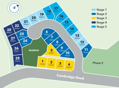 Generation Homes Subdivision Cambridge Park Estate