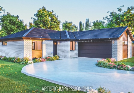 Generation Homes Christchurch House and Land Packages - Stunning Halswell living on lot 14 The Fields
