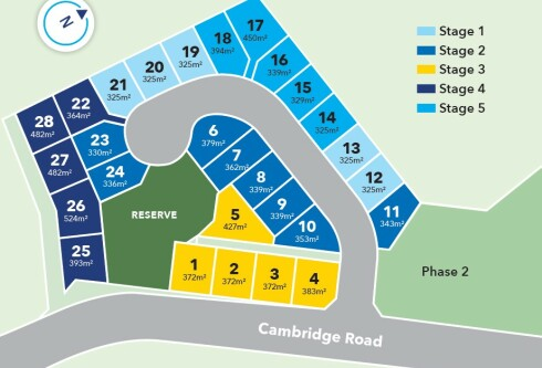Generation Homes Subdivision Cambridge Park Estate