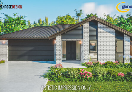 Generation Homes Christchurch House and Land Packages - Brand new Halswell home and land package - lot 23 The Fields