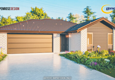 Generation Homes Christchurch House and Land Packages - Lot 561 Rosemerryn brand new home & land package