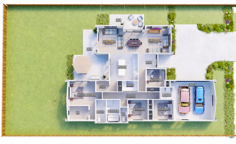 Generation Homes Package Modern living on lot 561 Rosemerryn home & land package