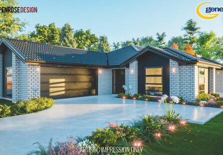 Generation Homes Christchurch House and Land Packages - Family living on lot 581 Rosemerryn home & land package