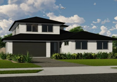 Generation Homes Auckland North House Only Packages - Two Level Home and Income - From