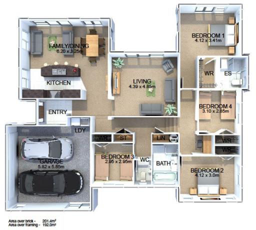 Generation Homes Plan Awatea