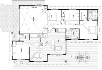 Generation Homes Package Cosgrove - two car garage. From