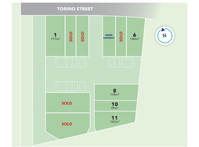 Generation Homes Subdivision Torino Street