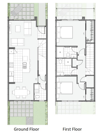 Generation Homes Package Modern, Townhouse Living - Lot 10