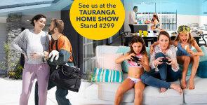 Are you coming to the Tauranga Home Show?